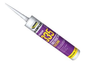 335 Construction Silicone Brown 295ml